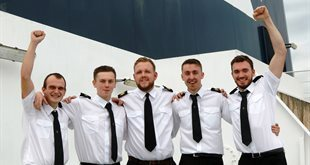 DFDS celebrates 2016's cohort of newly qualified apprentices