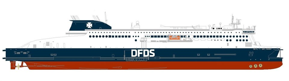 DFDS ship charter