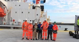 New era as Port of Dover Cargo Terminal West opens for business