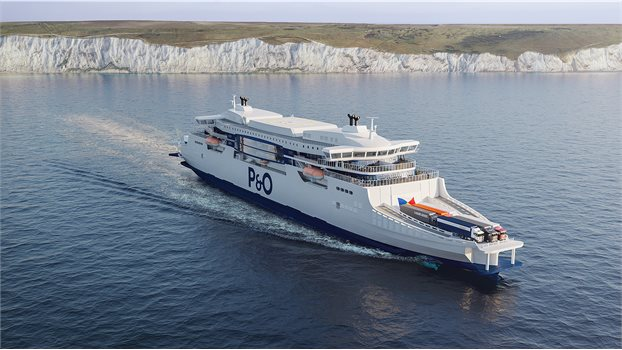 P&O new ferry - Day