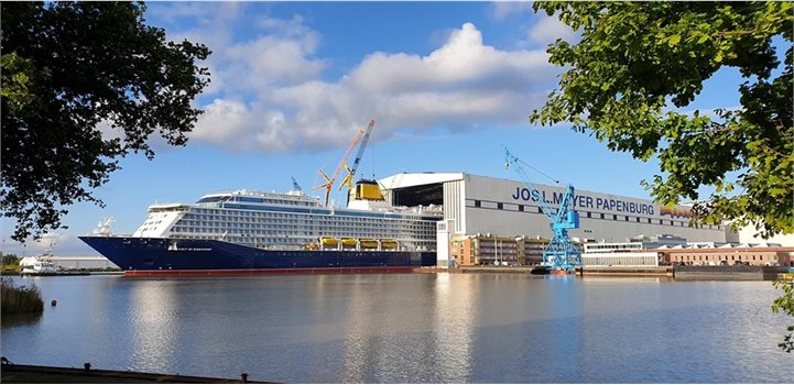 Spirit of Discovery Meyer Werft