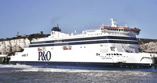 P&O Ferries has best July for tourists on the English Channel since 2015