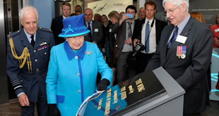 HM The Queen at Capel